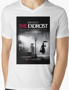 Mary Poppins in The Exorcist Mens V-Neck T-Shirt