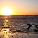 Sunset North-Sea by Jo Nijenhuis
