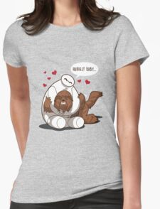 Hairiest Baby Womens Fitted T-Shirt