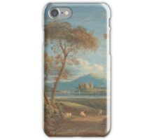 John Varley  Idyllic View with Conway Castle, North Wales iPhone Case/Skin