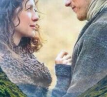 Outlander/Jamie & Claire/Scotland picture Sticker