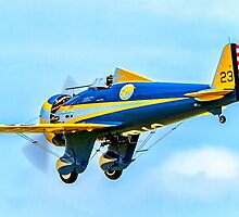 """Boeing P-26A 33-123 N3378G """"Peashooter"""" by Colin Smedley"""