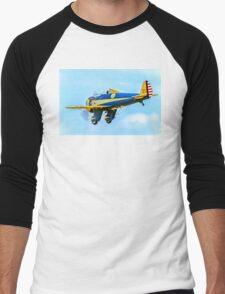 "Boeing P-26A 33-123 N3378G ""Peashooter"" Men's Baseball ¾ T-Shirt"