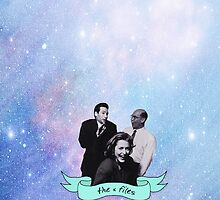 The X Files Space Dorks by lauraroslin