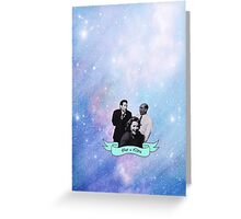 The X Files Space Dorks Greeting Card