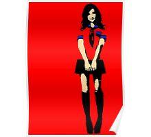 Girl Loves The Manga - Poster Print Poster