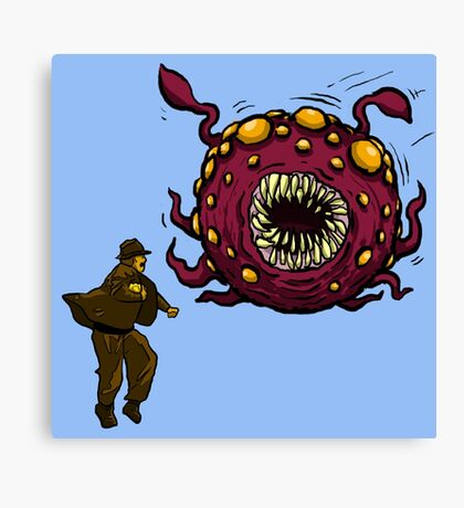 Indiana Jones Rathtar Canvas Print