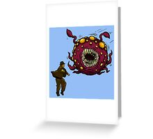 Indiana Jones Rathtar Greeting Card