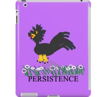 The Persistence of Chicken iPad Case/Skin