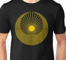 Maze: Man in the Middle Pattern Unisex T-Shirt