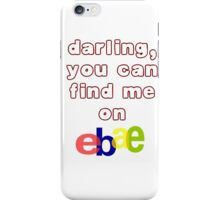 eBae iPhone Case/Skin