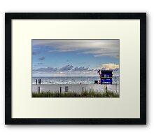 HDR Playa Framed Print