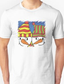 Pair of Cheeky Snowmen T-Shirt