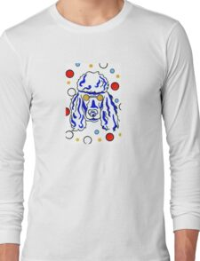 Poodle fun and crazy Long Sleeve T-Shirt