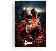 DmC Devil May Cry Ultimate Poster Canvas Print