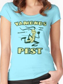 Breaking Bad: Vamonos Pest Women's Fitted Scoop T-Shirt