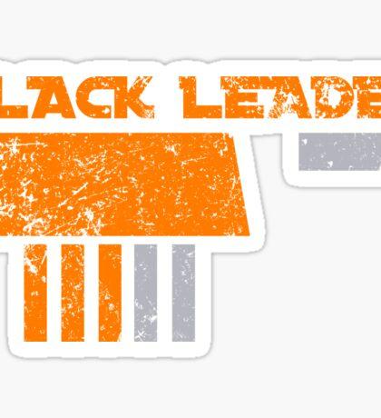 Black Leader Sticker