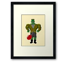 Franken-Child Framed Print