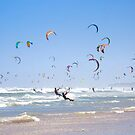 Kitesurfing Armada, Cape Town, South Africa by SeeOneSoul