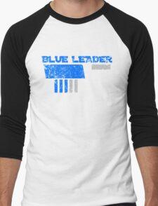 Blue Leader Men's Baseball ¾ T-Shirt