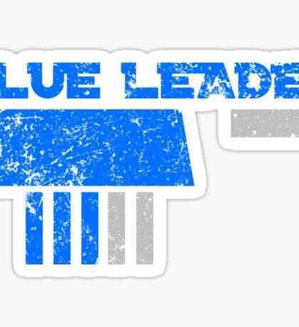 Blue Leader Sticker