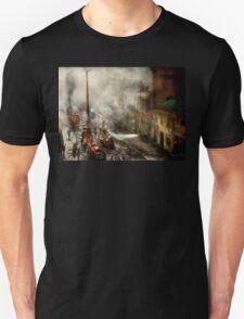 Fireman - New York NY - Big stink over ink 1915 Unisex T-Shirt