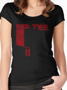 Red Two Women's Fitted Scoop T-Shirt