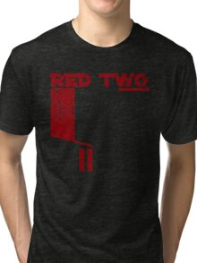 Red Two Tri-blend T-Shirt