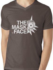 The Mask Face Mens V-Neck T-Shirt