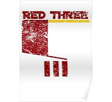 Red Three Poster