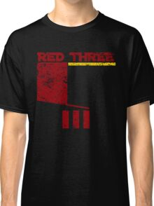 Red Three Classic T-Shirt