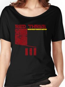 Red Three Women's Relaxed Fit T-Shirt