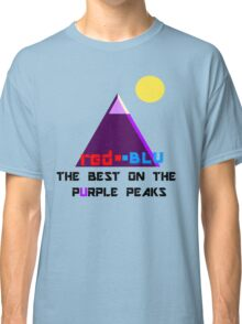 Red-Blu: The Best on the Purple Peaks Classic T-Shirt