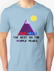 Red-Blu: The Best on the Purple Peaks Unisex T-Shirt