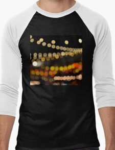Bokeh Fest Men's Baseball ¾ T-Shirt