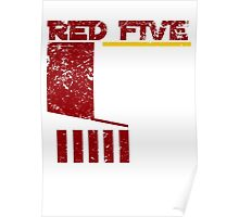 Red Five Poster