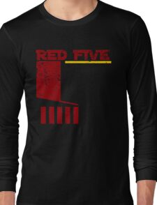 Red Five Long Sleeve T-Shirt