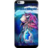 To catch a falling star  iPhone Case/Skin