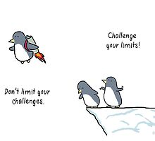 Challenge Your Limits! by muffinsaurs
