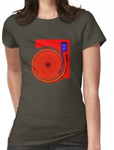 Just For The Record... Womens Fitted T-Shirt