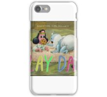 Adventure Time 'play date' title card iPhone Case/Skin