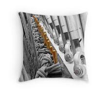 Tall Ship Cleats Throw Pillow
