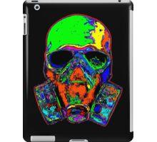 Toxic skull (green) iPad Case/Skin