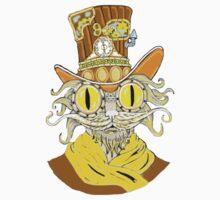 Steam Punk Cat Baby Tee