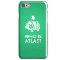 Bioshock: Who Is Atlas? iPhone Case/Skin