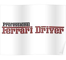 Ferrari Driver Poster