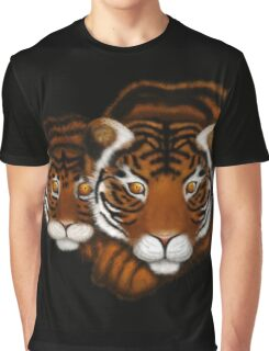 Mother Tiger and Cub  Graphic T-Shirt