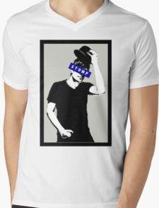 InkFOB - Stump Mens V-Neck T-Shirt