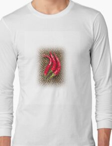 Chili & sunflower Long Sleeve T-Shirt