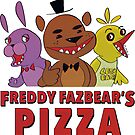 Freddy Fazbear's Pizza Employee by Carrie Wilbraham